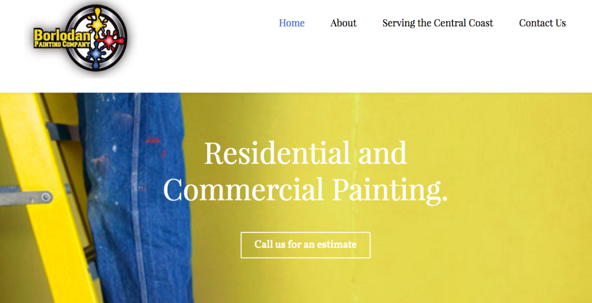 Borlodan Paso Robles Painting Company Launches a New Website